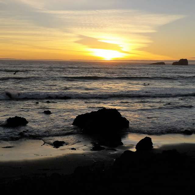 Crescent City Sunset