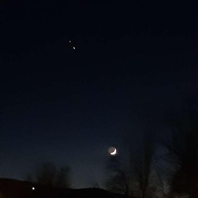 Luna Jupiter Saturmo