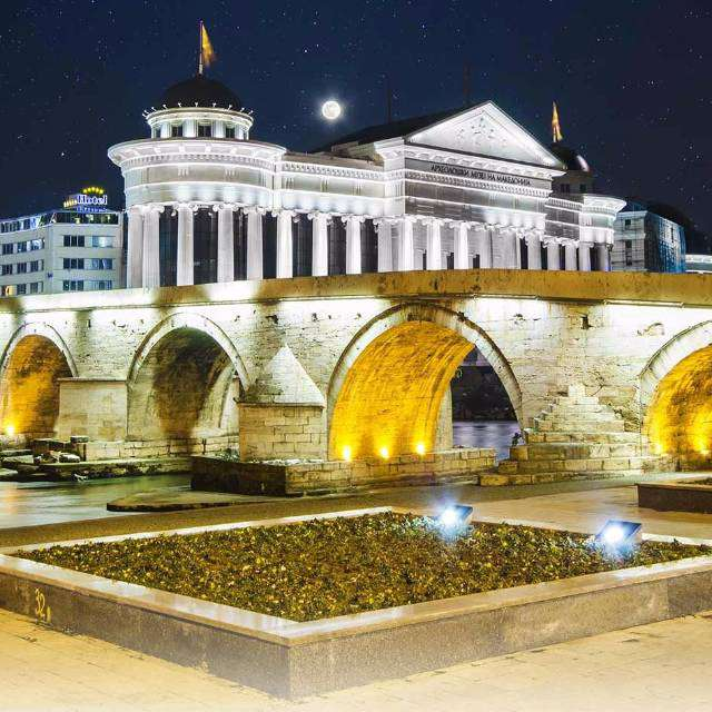 the bridge of skopje perfect