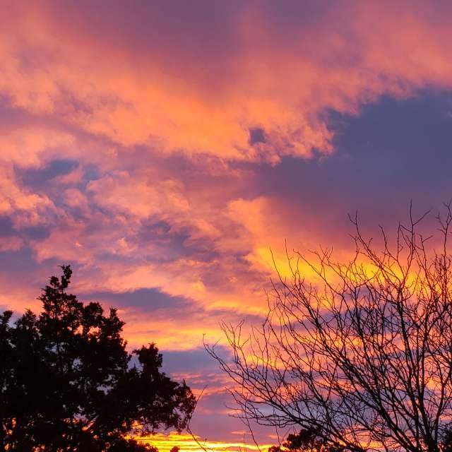 Santa Fe sunset, un-re-touched