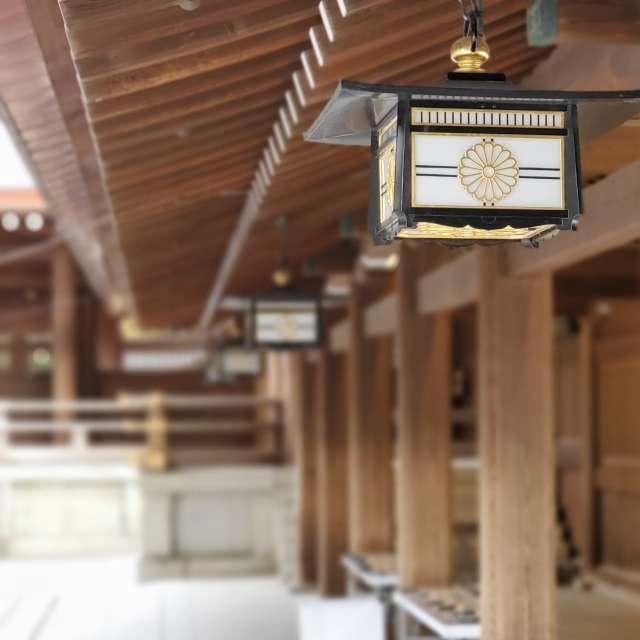 明治神宮の柱