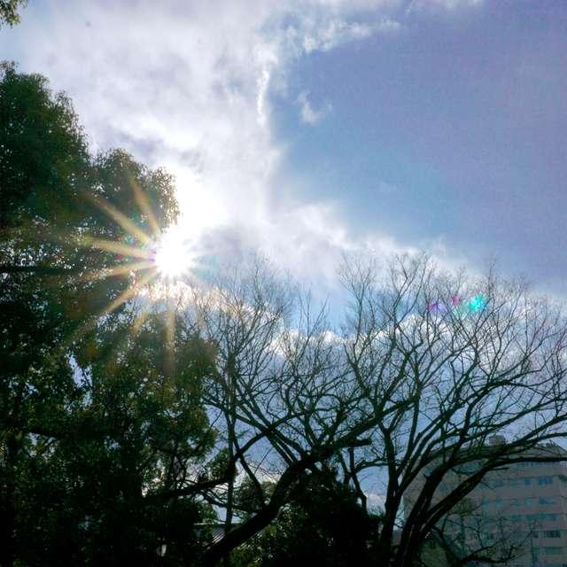 雨上がり〜岡山の空〜