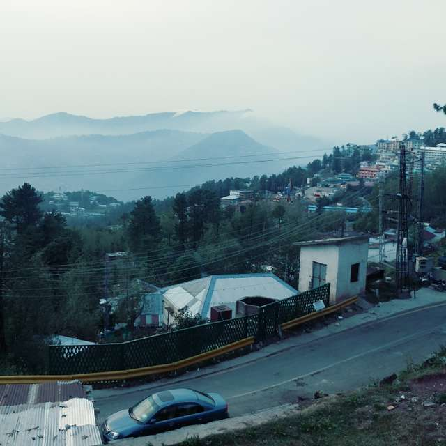 Mesmerizing evening at murree