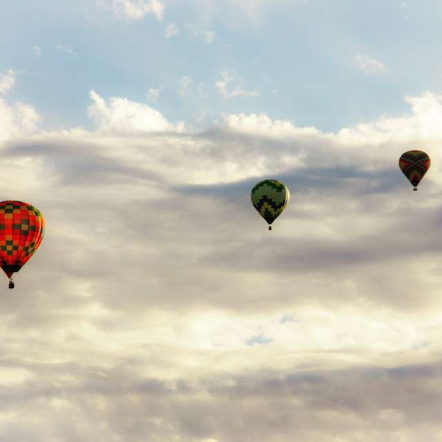 Hot-air balloon parade