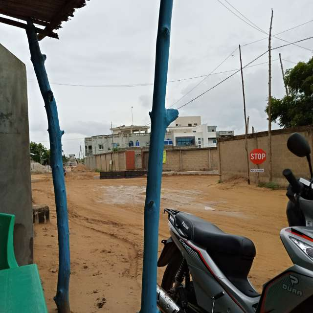 Route après la pluie