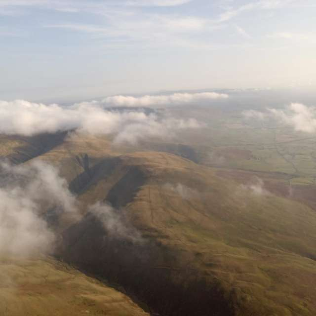 Paragliding over the Howgills