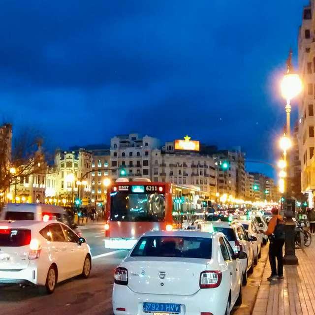Valencia at twilight