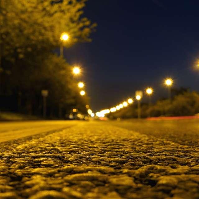 Roughness of asphalt
