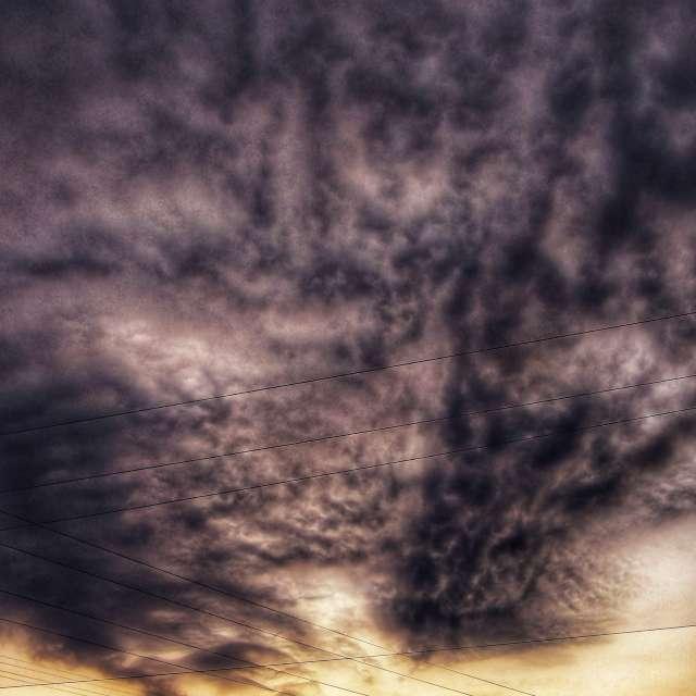 Large Clouds at Sunrise