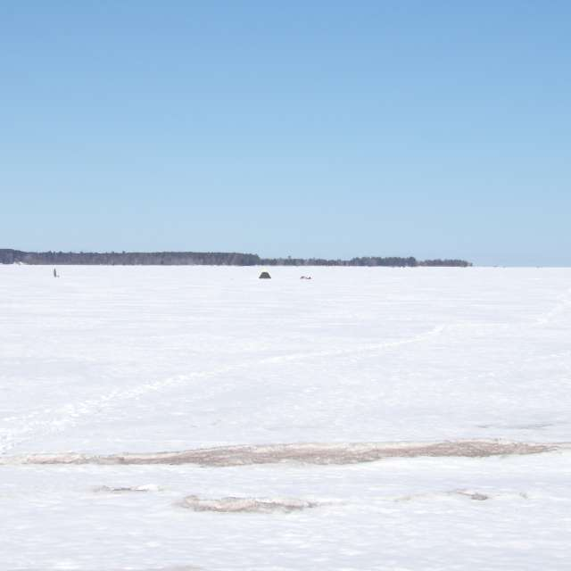 Lake Superior Ice Fishermen
