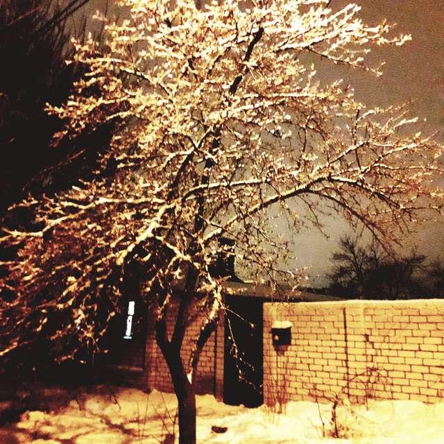И такая зима...