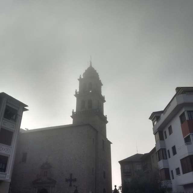 Niebla en Plaza de la Encina.
