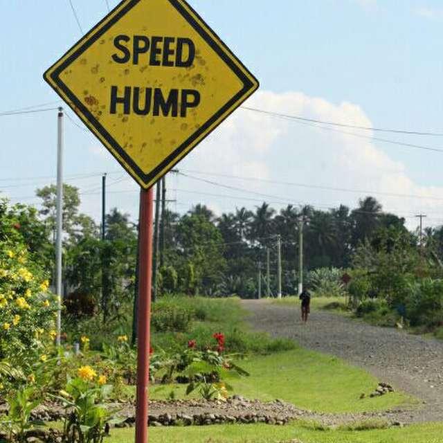 Speed Hump at KB Development