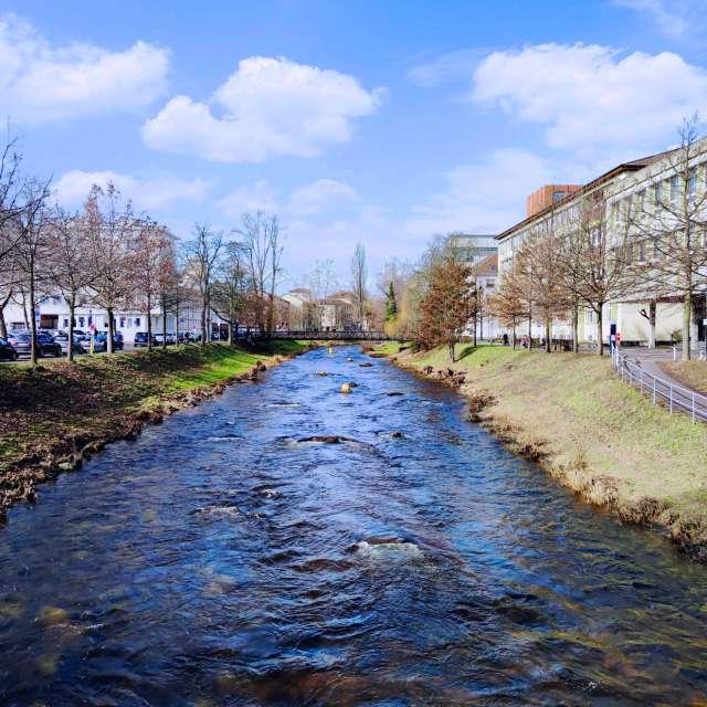 River Enz, Pforzheim - Germany