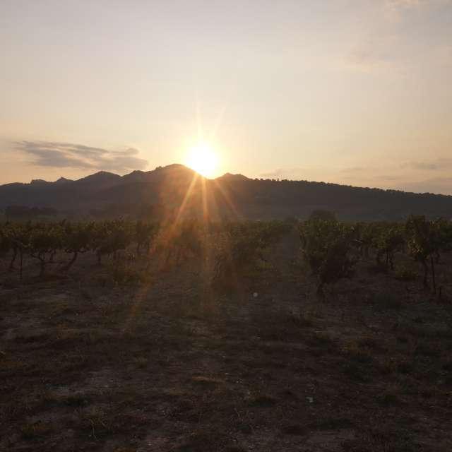 Sunset Vaucluse France