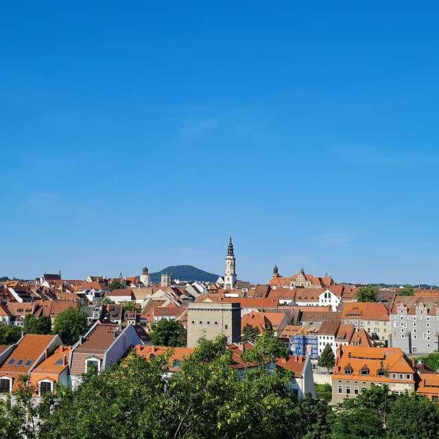 Panorama of city Goerlitz