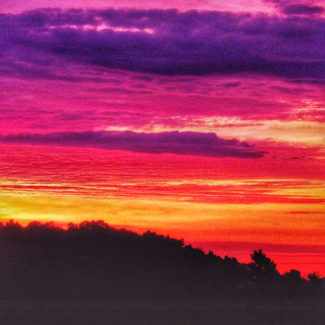 Sunrise Before A Storm