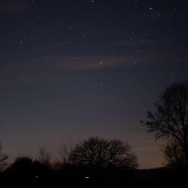 Sternenhimmel an der Saale
