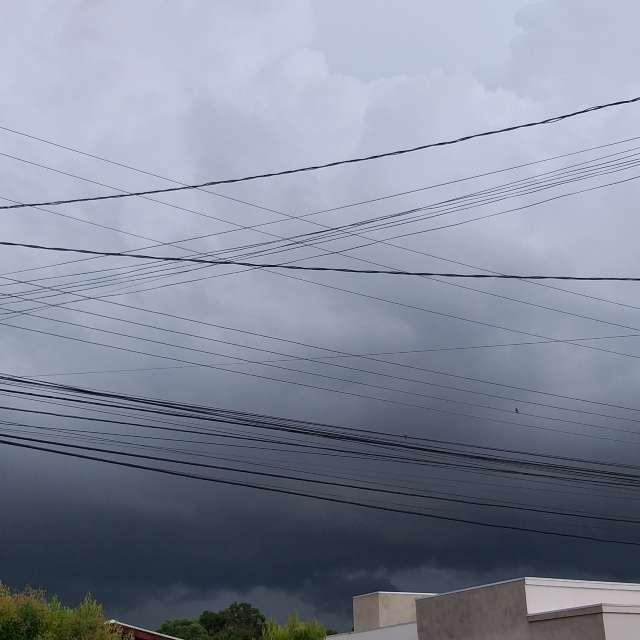 Primeira Tempestade do dia.