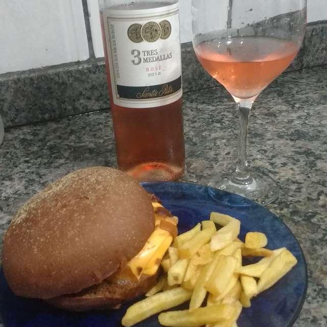 Hamburger made by myself
