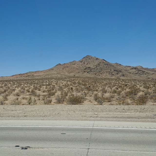 Past Bell Mount. way to Vegas