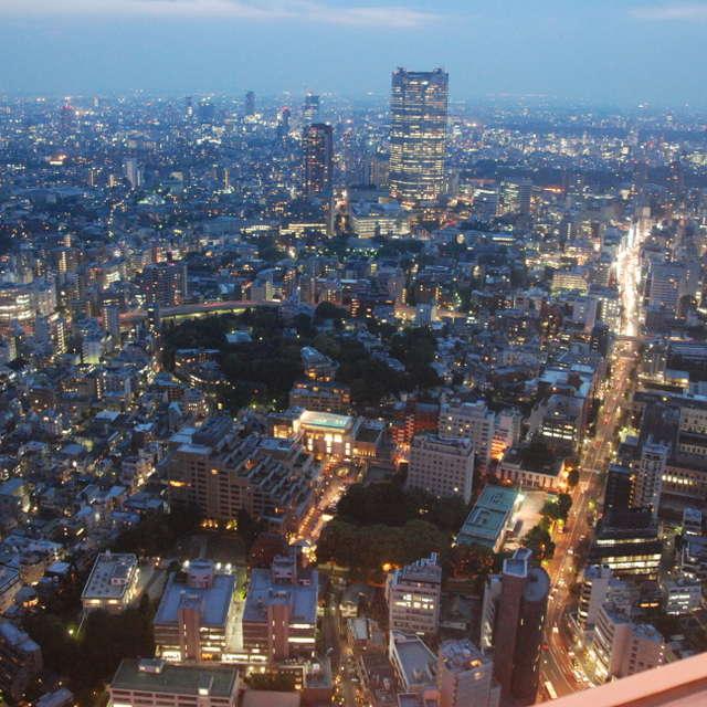 東京タワーからマジックアワー