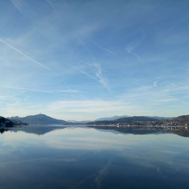Wörthersee nature view