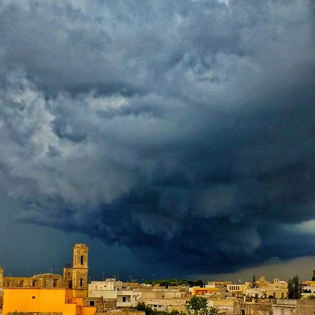 Salento storm