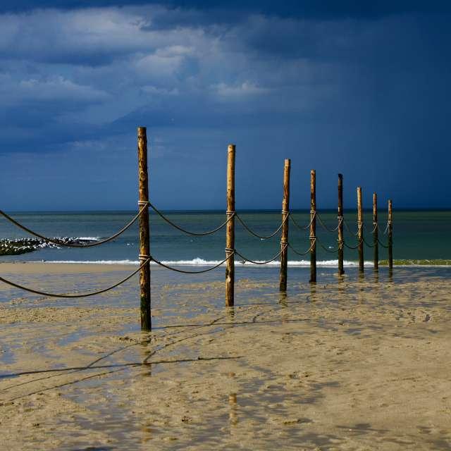Regengebiet Nordsee