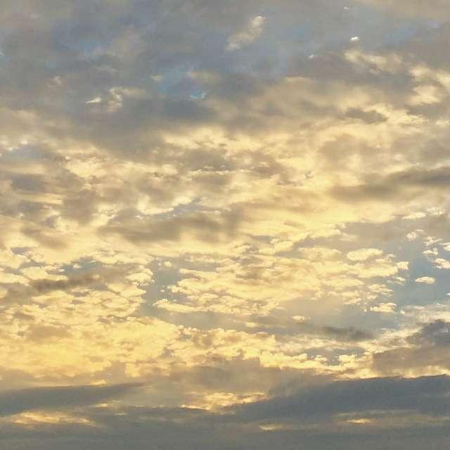 マシュマロみたいな雲