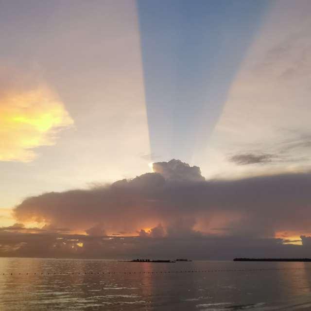 Рассвет в Доминикана.