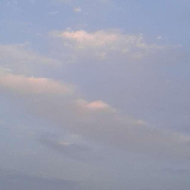 le ciel couvert en septembre