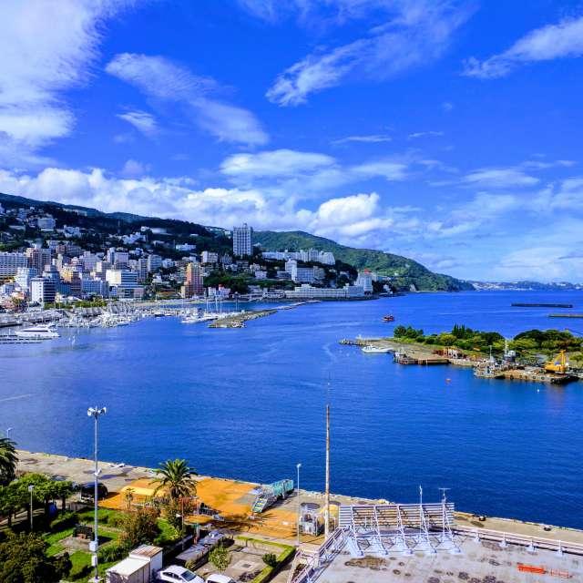 熱海港の絶景