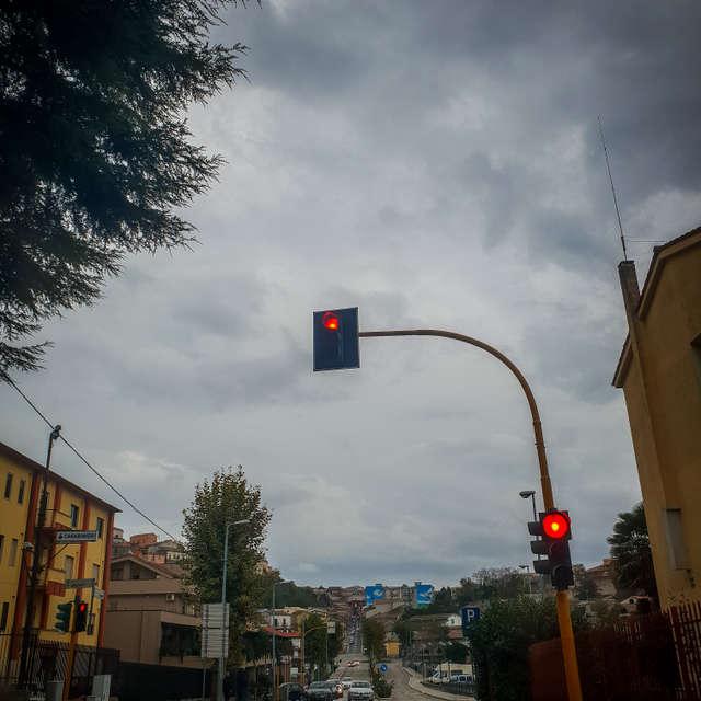 Un semaforo innamorato