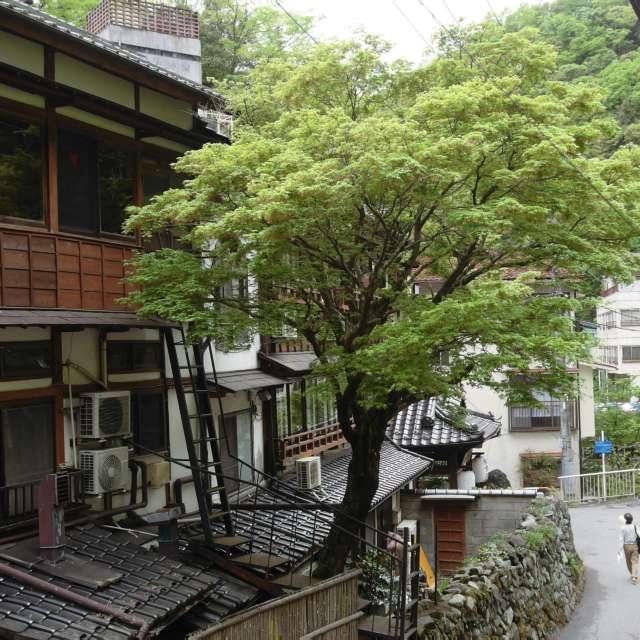 温泉町 An old hot spring town
