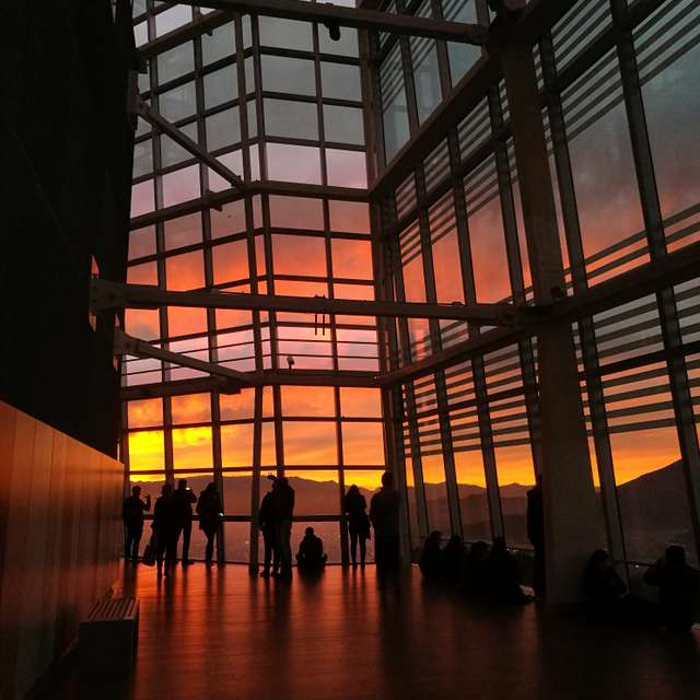 Sunsets at Costanera Center
