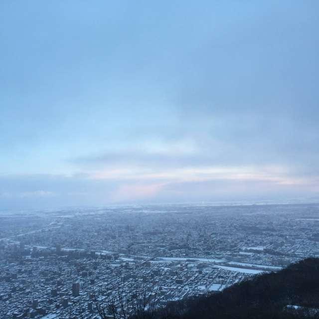 あいにくの初日の出 sunrise