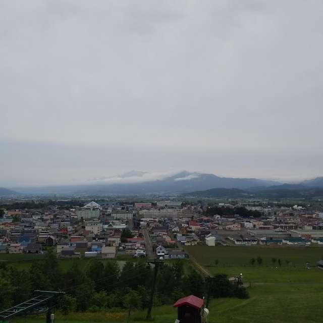 芦別岳 富良野方面
