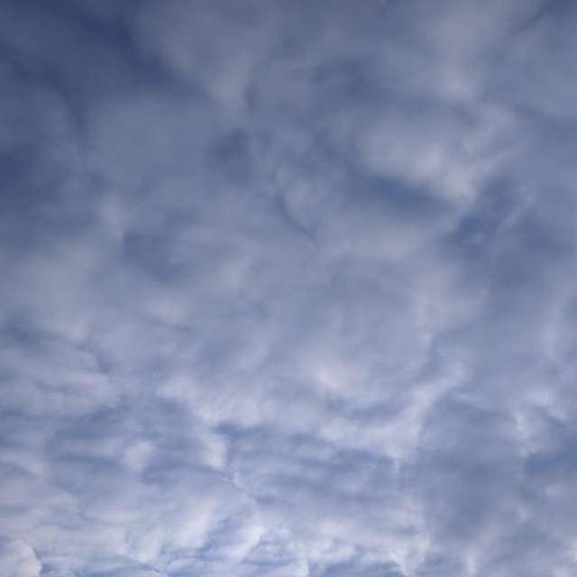 Февральское небо