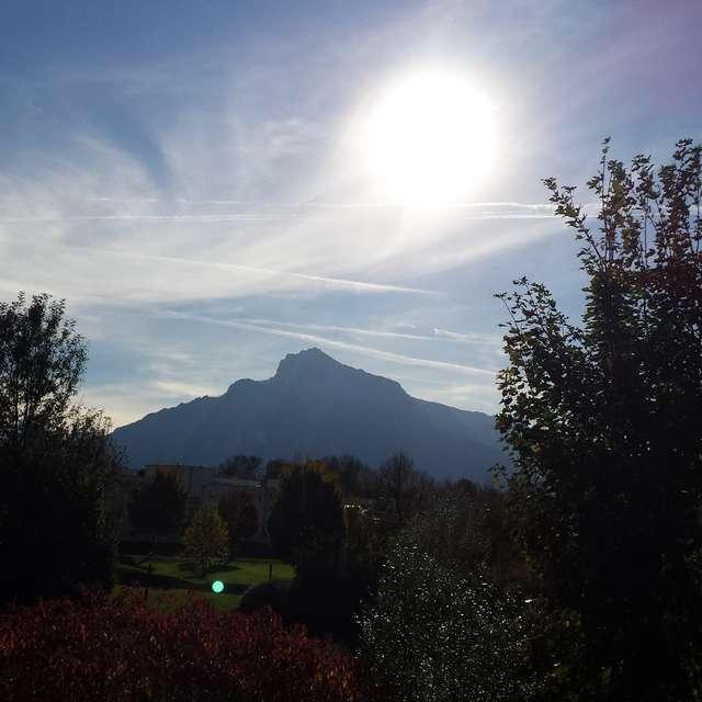 Salzburg im Sonnenschein