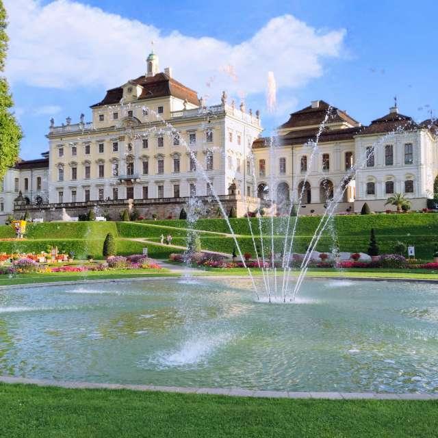 Blühendes Barock-Ludwigsburg
