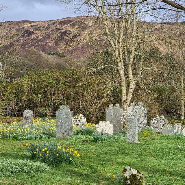 Ancient gravestones, Scotland
