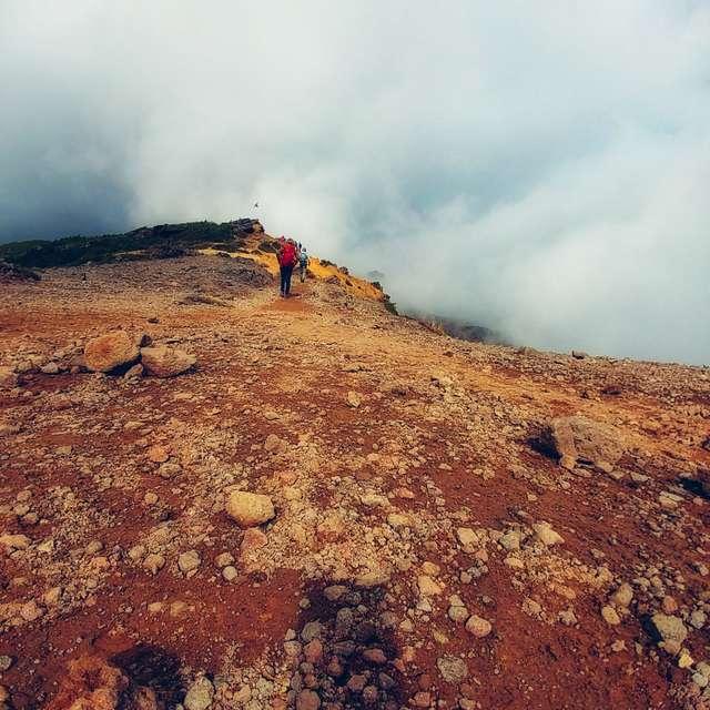 安達太良山稜線あるき