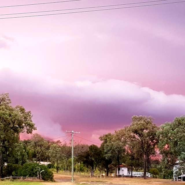 Wettervorhersagen mit schönen Fotos von Teri