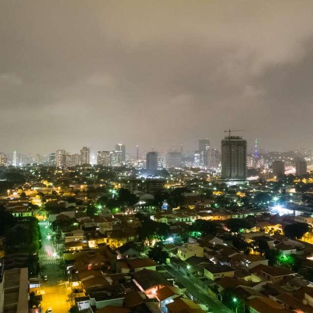 San Paulo at night