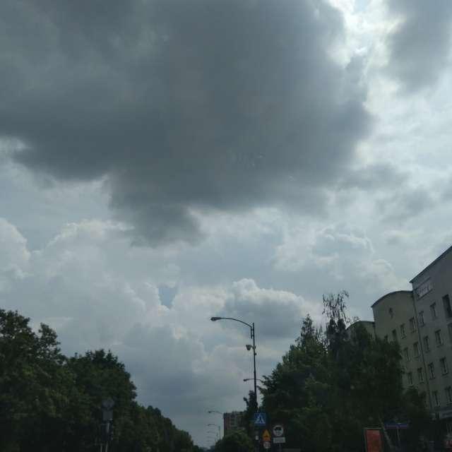 Warszawa w chmurach