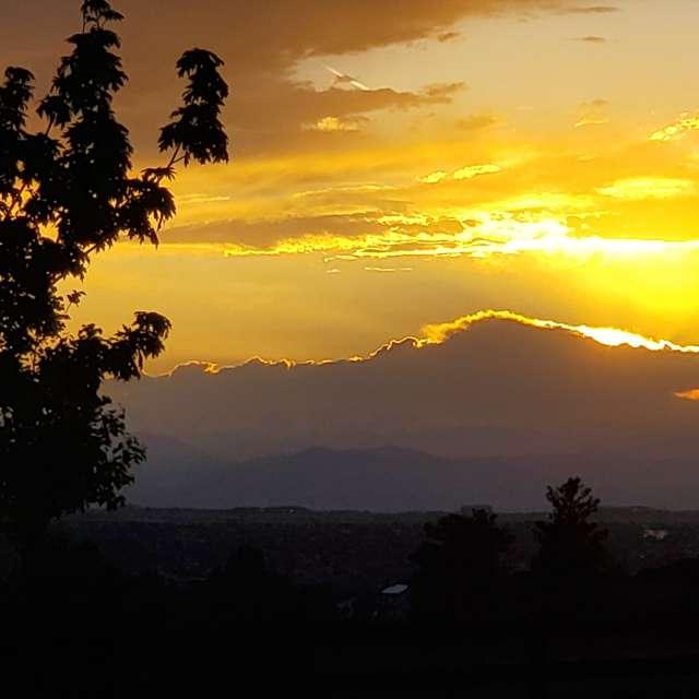Parker, CO Sunset