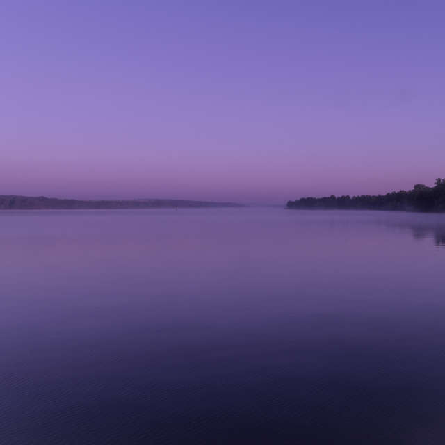 Old Dnieper before dawn.