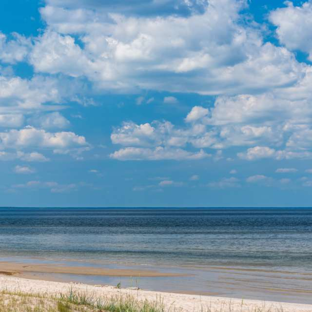 Clouds over the Baltic Sea