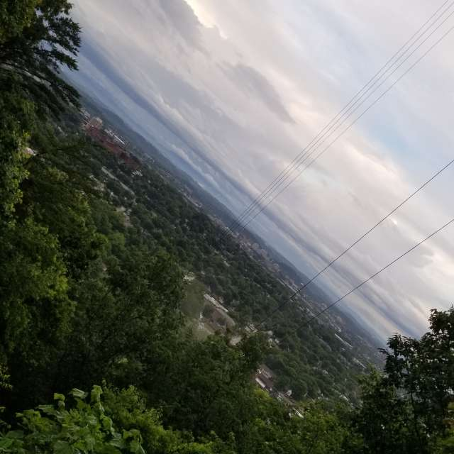 Scenic view over Knox.